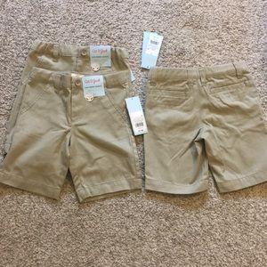 NWT boys uniform shorts